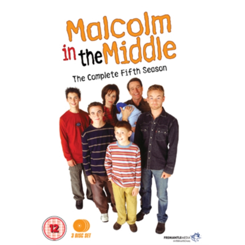Malcolm In The Middle - Sesong 5 (UK-import) (DVD)