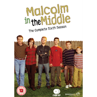 Produktbilde for Malcolm In The Middle - Sesong 6 (UK-import) (DVD)