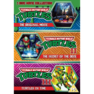 Produktbilde for Teenage Mutant Ninja Turtles - The Movie Collection (UK-import) (DVD)