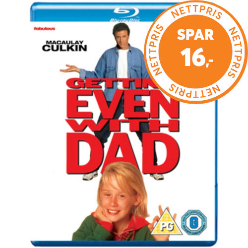 Getting Even With Dad (UK-import) (BLU-RAY)