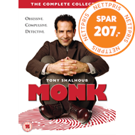 Produktbilde for Monk: Complete Series (UK-import) (DVD)