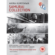 Produktbilde for Kurosawa: The Samurai Collection (UK-import) (BLU-RAY)