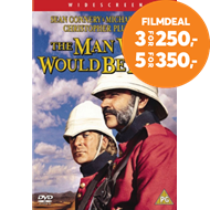 Produktbilde for The Man Who Would Be King (1975) / Mannen Som Ville Bli Konge (UK-import) (DVD)
