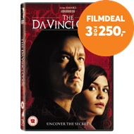 Produktbilde for The Da Vinci Code (UK-import) (DVD)
