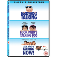 Produktbilde for Look Who's Talking 1-3 (Se, Han Snakker) (UK-import) (DVD)