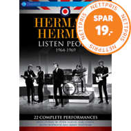 Produktbilde for Herman's Hermits - Listen People 1964-1969 (UK-import) (DVD)