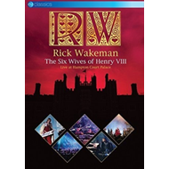 Produktbilde for Rick Wakeman - The Six Wives Of Henry VIII: Live At Hampton Court Palace (UK-import) (DVD)