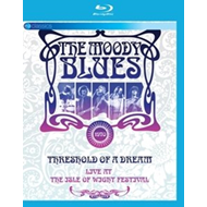 Produktbilde for The Moody Blues - Threshold Of A Dream: Live At The Isle Of Wight Festival (UK-import) (BLU-RAY)