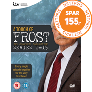 Produktbilde for A Touch Of Frost - The Complete Collection (UK-import) (DVD)