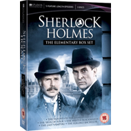 Produktbilde for Sherlock Holmes - The Elementary Box Set (UK-import) (DVD)