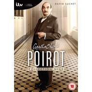 Produktbilde for Poirot - Collection 9 (Sesong 13) (UK-import) (DVD)