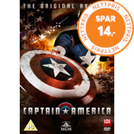 Produktbilde for Captain America (UK-import) (DVD)