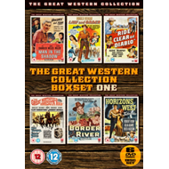 Produktbilde for The Great Western Collection - Boxset One (UK-import) (DVD)