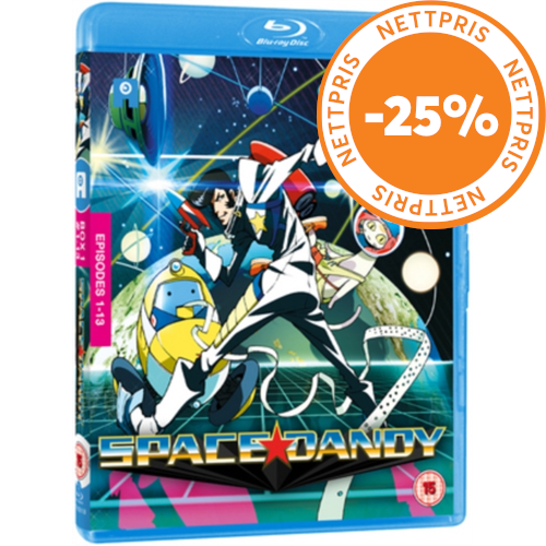 Space Dandy - Box # 1 (UK-import) (BLU-RAY)