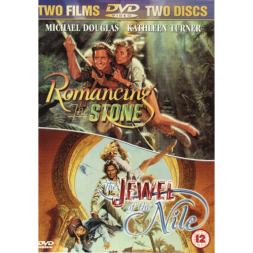 Romancing The Stone / The Jewel Of The Nile (UK-import) (DVD)