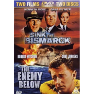 Produktbilde for The Enemy Below/Sink the Bismarck! (UK-import) (DVD)