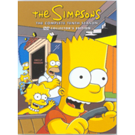 Produktbilde for The Simpsons - Sesong 10 (UK-import) (DVD)
