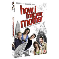 Produktbilde for How I Met Your Mother - Sesong 2 (UK-import) (DVD)
