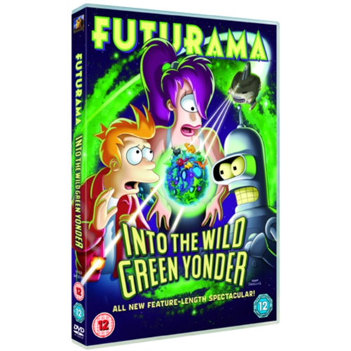 Futurama - Into The Wild Green Yonder (UK-import) (DVD)