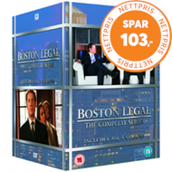 Produktbilde for Boston Legal - The Complete Series (UK-import) (DVD)