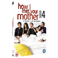 Produktbilde for How I Met Your Mother - Sesong 4 (UK-import) (DVD)