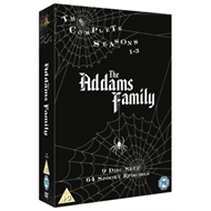 Produktbilde for The Addams Family - The Complete Series (UK-import) (DVD)