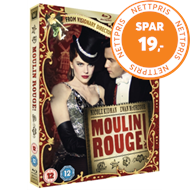Produktbilde for Moulin Rouge (UK-import) (BLU-RAY)