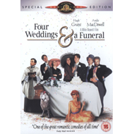 Produktbilde for Four Weddings And A Funeral (UK-import) (DVD)