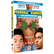 Produktbilde for Harold & Kumar Get The Munchies (UK-import) (DVD)