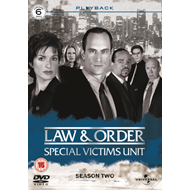 Produktbilde for Law & Order: Special Victims Unit - Sesong 2 (UK-import) (DVD)