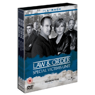Produktbilde for Law & Order: Special Victims Unit - Sesong 5 (UK-import) (DVD)