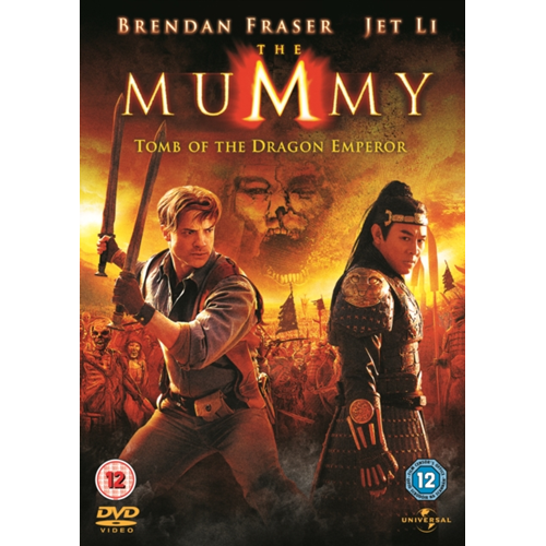 The Mummy: Tomb of the Dragon Emperor (UK-import) (DVD)