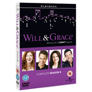 Produktbilde for Will & Grace - Sesong 8 (UK-import) (DVD)
