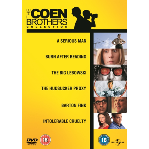 The Coen Brothers Collection (UK-import) (DVD)