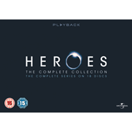 Produktbilde for Heroes - The Complete Series (UK-import) (BLU-RAY)