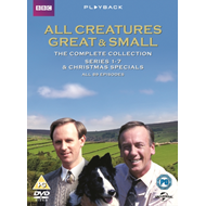 Produktbilde for All Creatures Great And Small - The Complete Series (UK-import) (DVD)