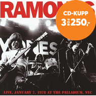 Produktbilde for Live January 7th 1978 At The Palladium NYC (CD)