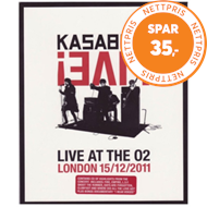 Produktbilde for Kasabian - Live! Live At The O2 (UK-import) (Blu-ray + CD)