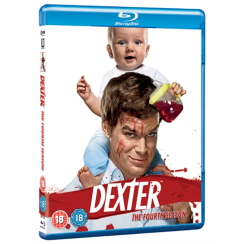 Dexter - Sesong 4 (UK-import) (BLU-RAY)