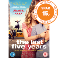 Produktbilde for The Last Five Years (UK-import) (DVD)