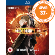Produktbilde for Doctor Who - The Complete Specials (UK-import) (BLU-RAY)