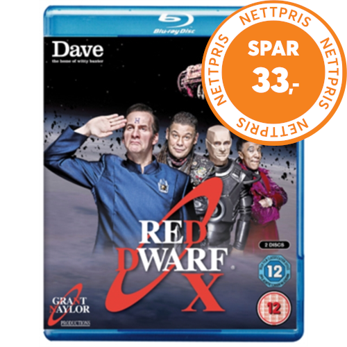 Red Dwarf X (UK-import) (BLU-RAY)
