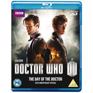 Produktbilde for Doctor Who - The Day Of The Doctor (UK-import) (Blu-ray 3D + Blu-ray)