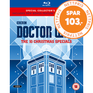 Produktbilde for Doctor Who - The 10 Christmas Specials (Blu-ray) (UK-import) (BLU-RAY)