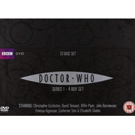 Produktbilde for Doctor Who - Sesong 1-4 (UK-import) (DVD)