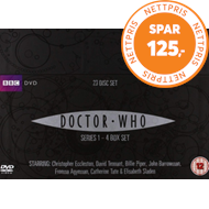 Produktbilde for Doctor Who - Sesong 1 - 4 (UK-import) (DVD)