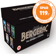 Produktbilde for Bergerac - The Complete Collection (UK-import) (DVD)