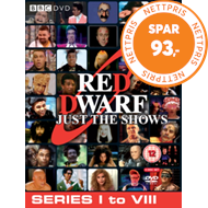 Produktbilde for Red Dwarf - Just The Shows (UK-import) (DVD)