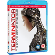 Produktbilde for Terminator: The Sarah Connor Chronicles - Sesong 1 & 2 (UK-import) (BLU-RAY)