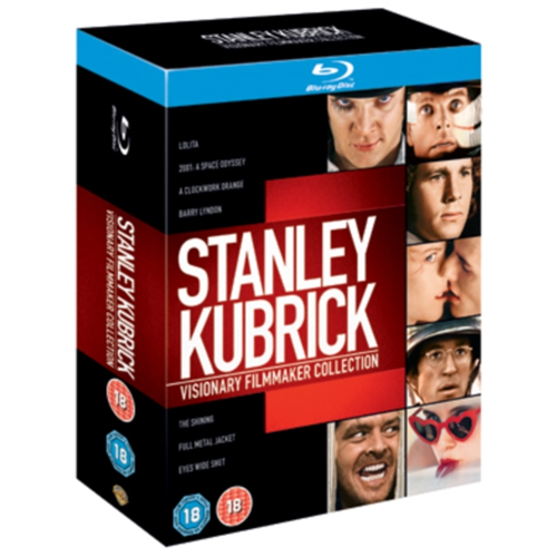 Stanley Kubrick: Visionary Filmmaker Collection - UK Box Set (UK-import) (BLU-RAY)